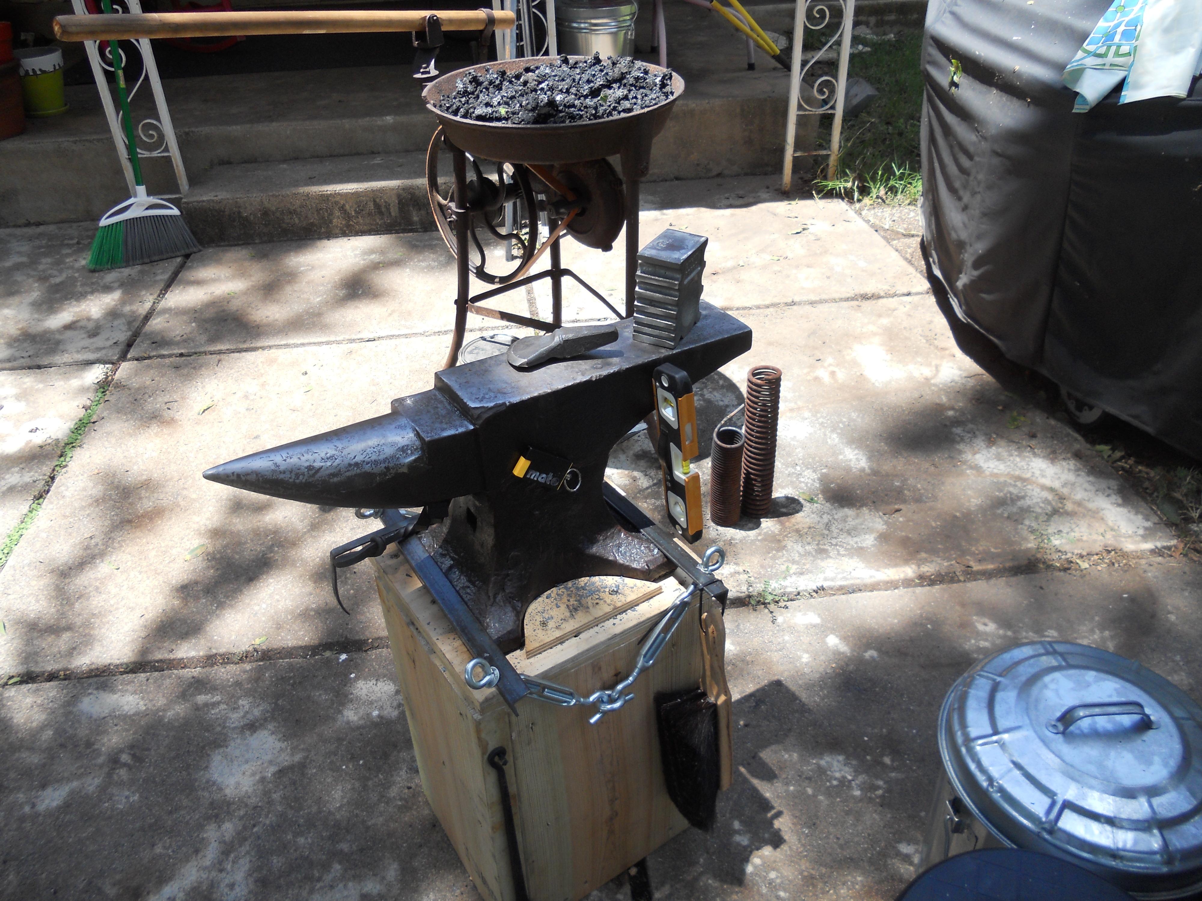 Backyard Forge backyard forge and dog danger emporium | l r wicker design
